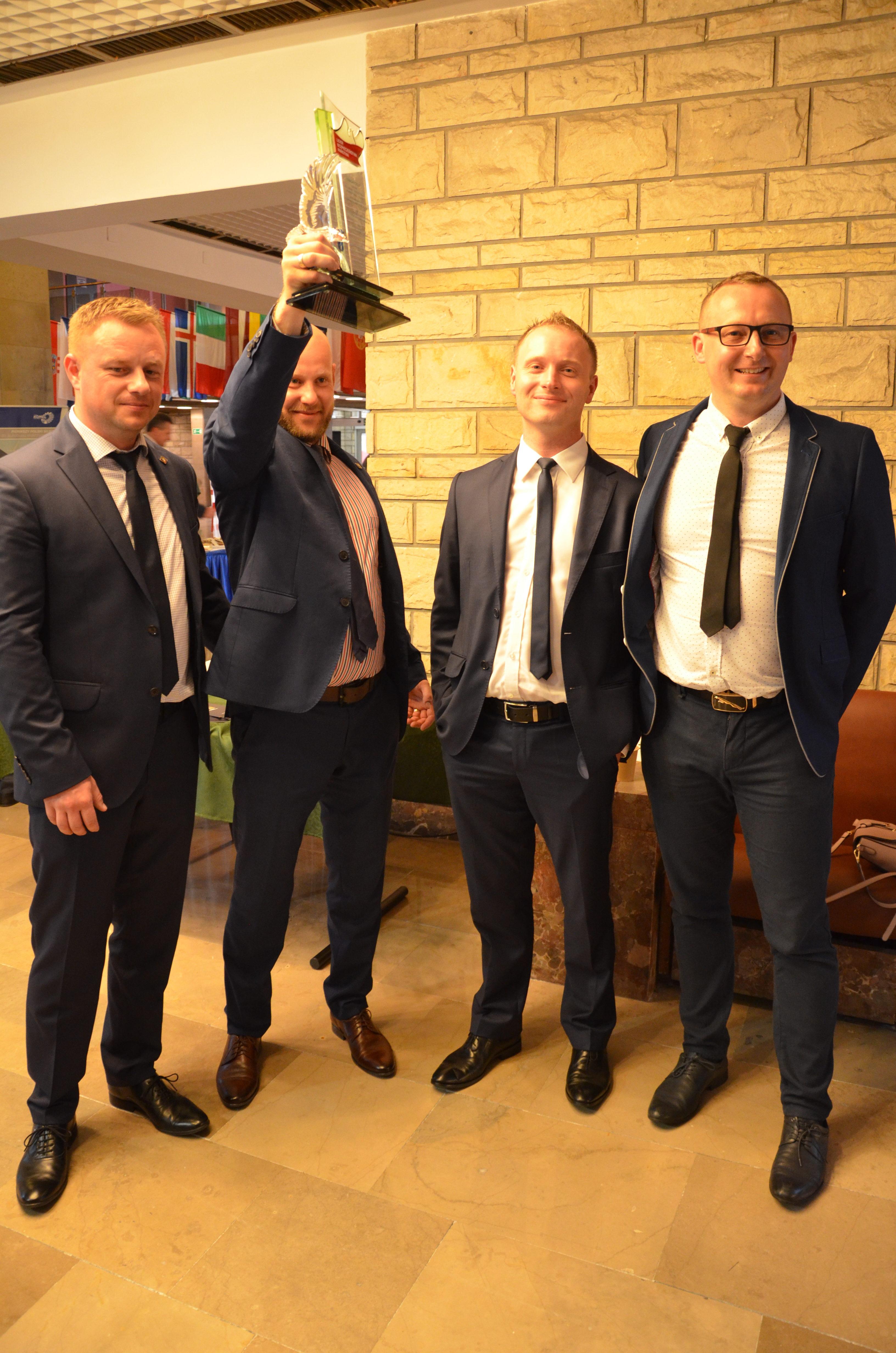 Wspólne stoisko na targach MSPO i Logistyka 2019 w Kielcach